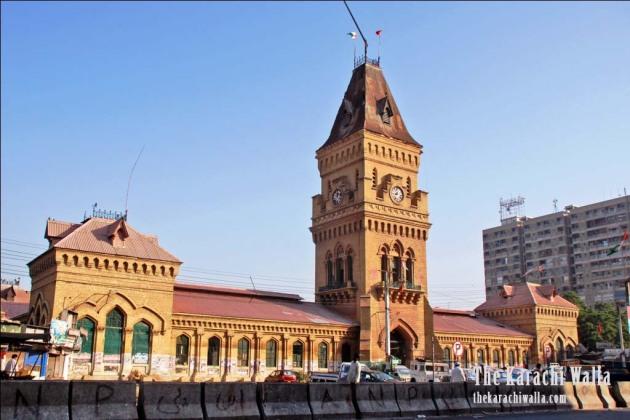 Image result for Empress Market karachi