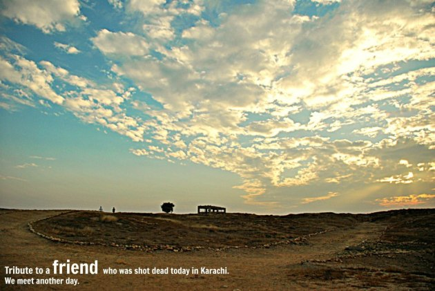 Photo Story – Tribute to the Deceased | The Karachi Walla