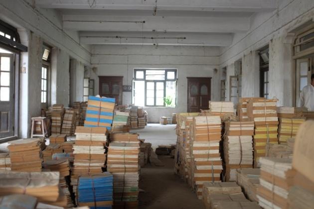 Second Floor book storage 1