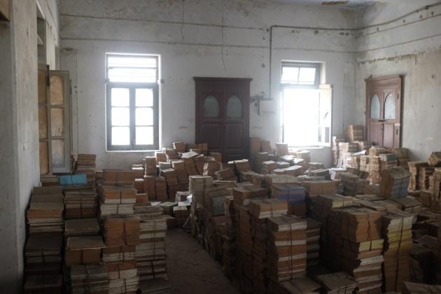 Second Floor book storage 3