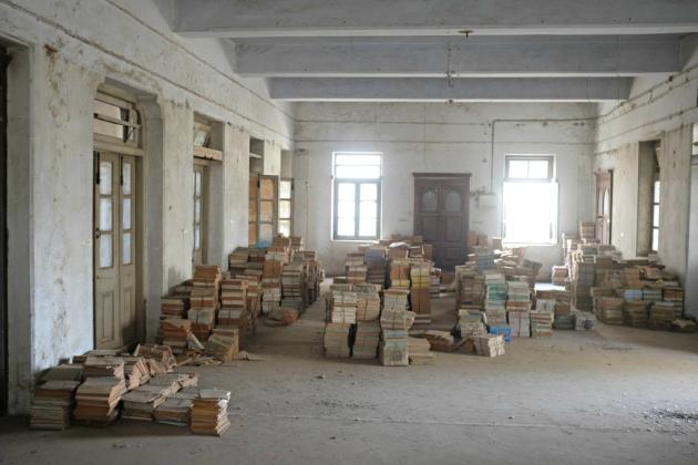 Second Floor book storage 4