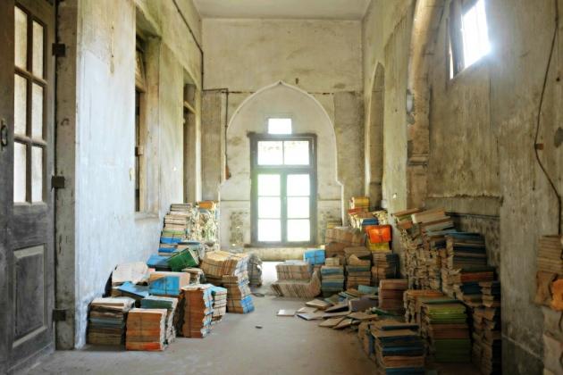Second Floor book storage 5