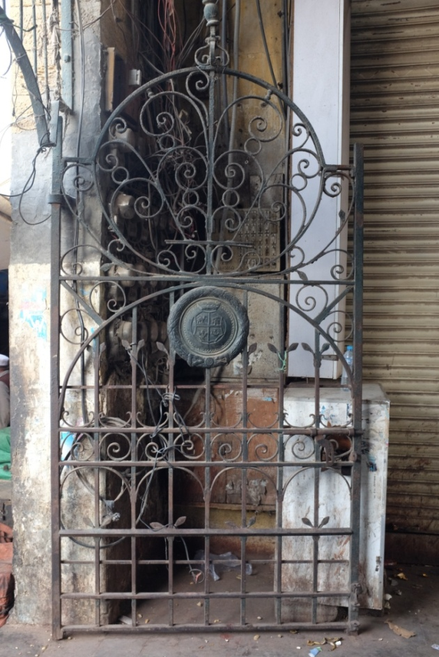 Empress Market - All the gates have KMC seal in the center