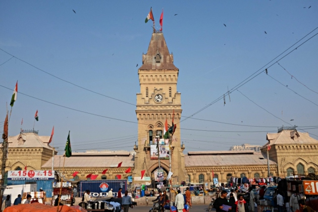 Empress Market - in all its majesty