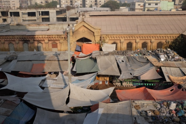 Empress Market - View from the top