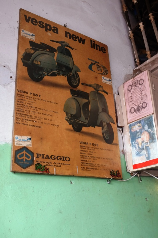 16 - An old piago poster