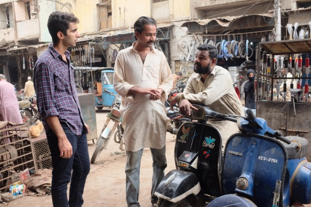 29 - Tahir Mistry is an expert of repairing Vespas