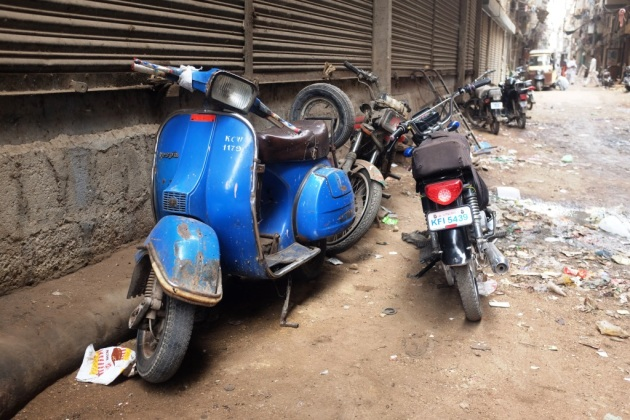 3 - An operational Vespa