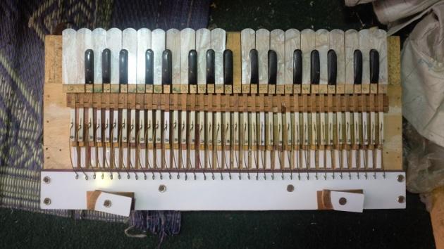 1 - A harmonium undergoing repair at Saleem and Sons