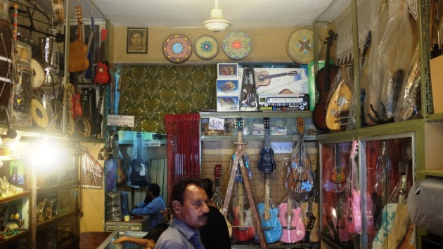 2 - Sohail Music shop has to be one of the most well assorted music shop in the city