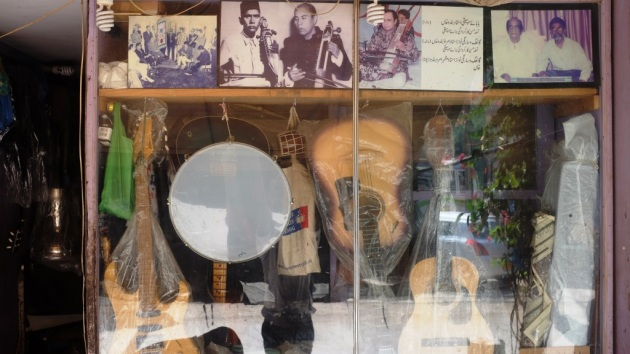 3 - Waheeds photo with Mehdi Hassan is proudly displayed at the entrance