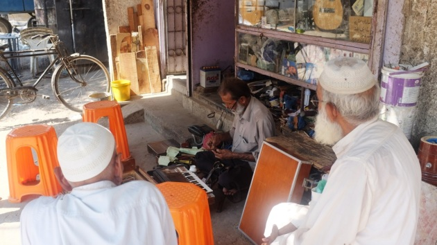 3 - Waheeds shop is a hangout for the elderly in the area