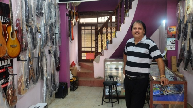 4 - Aamir has transformed Beatles music shop into one of the largest online music store in the country