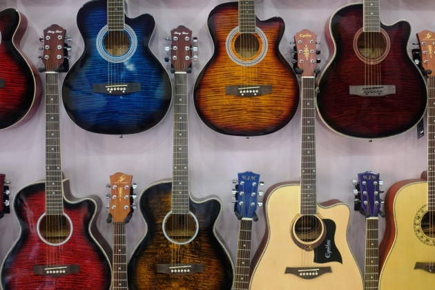 4 - Beatles shop is one of the largest dealer in guitars in the country